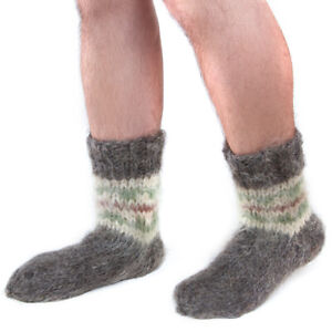 Super-Warm-100-Sheepskin-Sheep-Wool-Winter-Socks-Fuzzy-Soft-Warming-Knitted-New