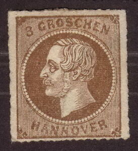 1864-Hannover-Germany-3Gr-Unused-Cat-1500