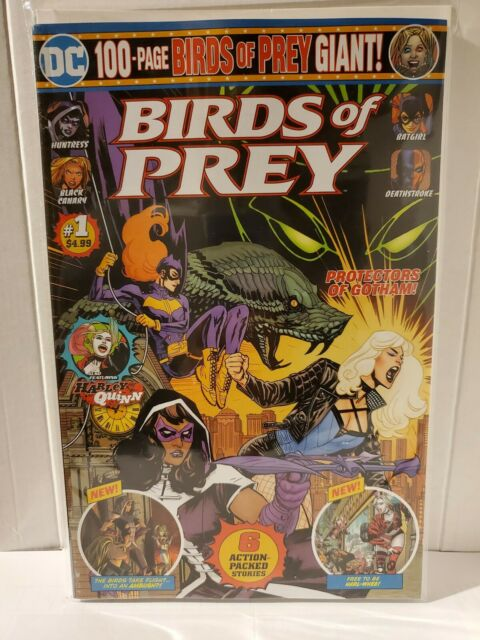 Birds Of Prey 100 Page Giant Size Comic 1 Cover A 2020 With Harley Quinn Dc For Sale Online Ebay