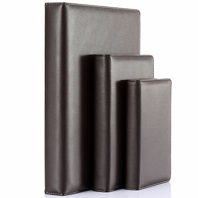 Brown Leather Case Business Notebook A4/A5/A6 Loose-leaf Blank Travel Diary Book