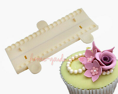 Fondant Cake Pearl Cutter Mold Cupcake Topper Icing Sugarcraft Baking Tools MM