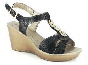 INBLU-SANDALI-SCALZATI-donna-ART-DN-42-zeppa-nero-sandals