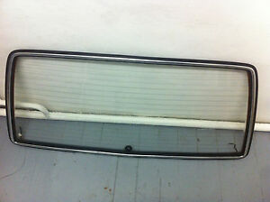 Rear Hatch Trunk Window Glass Mercedes Benz W123 Station Wagon