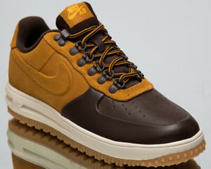 bbc8aae83c9e Nike Lunar Force 1 Duckboot Low New Men s Lifestyle Shoes Brown 2019 ...