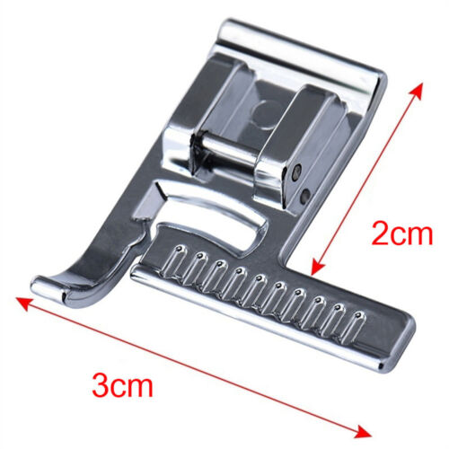 UK Sewing Machine Presser Foot Tape Stitch Guide Sewing Foot Snap with a Ruler