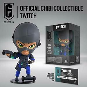 RAINBOW SIX COLLECTION TWITCH ACTION FIGURE COLLEZIONE CHIBI SERIES 3 Ubisoft