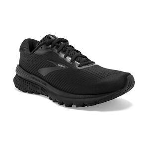 BROOKS-Woman-ADRENALINE-GTS-20-WIDE-Scarpe-Running-Donna-BLACK-120296-D-040