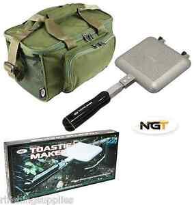 NGT-Bankside-Sandwich-Tostapane-Campeggio-Toast-Maker-sacchetto-verde-pesca-della-carpa-537