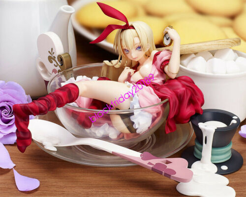 Anime Alice in Wonderland tasting cup of Epicurious Alice PVC Action Figure N B