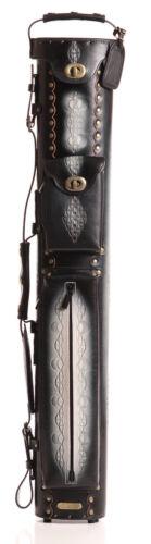 Style 3 Instroke Black Saddle 3x5 Black Leather Case IST35-BKA-D03