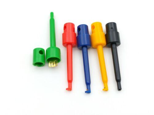 Arduino Fil Kit de Test Crochet clip Grabbers sonde pour multimètre SMT//SMD Wholesale