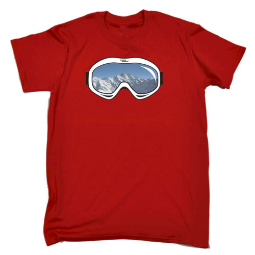 Ski Snowboard Gogg Skiing Snowboarding Kids Childrens T-Shirt Funny tee TShirt