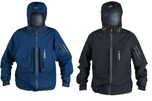 Loop Tackle Lainio Wading Jacket Fishing Coat 3 Layer Grey