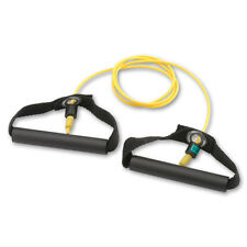 Cando® Exercise Tubes w/ Handles - XLight Resistance Yellow