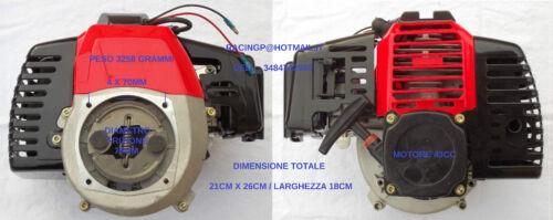 PROGETTO ENGINE MOTORE 43CC X DECESPUGLIATORE POMPA MONOPATTINO SCOOTER GOKART