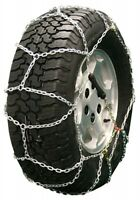 285/50-18 285/50r18 Diamond Back Tire Chains 3.7mm Link Pull Adjuster Suv Truck