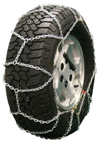 35X12.50-16 35X12.50R16 Diamond Back Tire Chains 5.5mm Link Pull Adjuster SUV