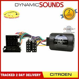 DS-CT001-2-Controle-Volant-Interface-Adaptateur-Cable-pour-Citroen-Xantia