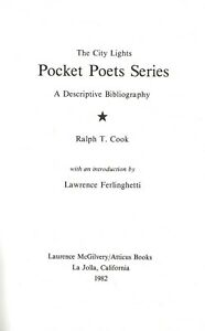 CITY-LIGHTS-POCKET-POETS-SERIES-A-DESCRIPTIVE-BIBLIOGRAPHY-1982-HARDCOVER