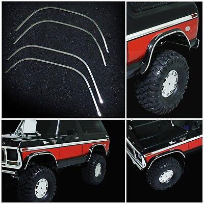 Metal Wheel Arch Bumper Guard Decoration Strip For Traxxas TRX4 Ford Bronco Car