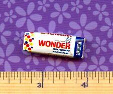 Dollhouse Miniature Replica Loaf of Wonder Bread Squooshy ~ HR54116