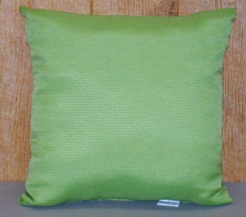 Outdoor or Indoor Patio Pillow ~ Solid Coastal Green ~ 16 x 16 x 5 **NEW**