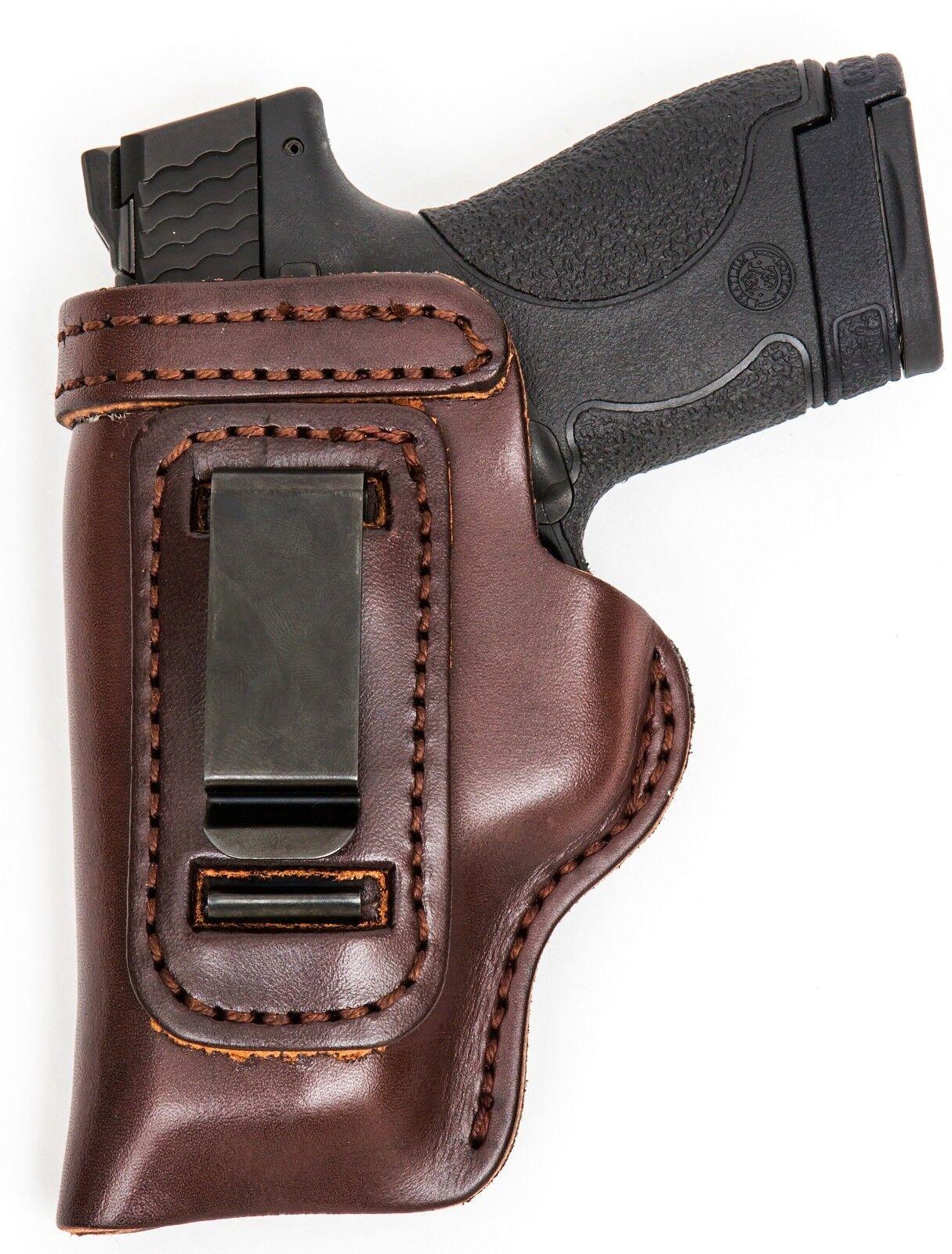 HD Concealed RH LH OWB IWB Leder Gun Holster For For Holster Ruger LCR w/ CT Laserguard 7589fa