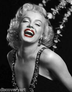 Image Is Loading Marilyn Monroe With Red Lips Portrait Canvas Wall