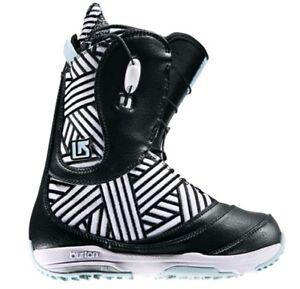 Image Is Loading Burton Supreme Snowboard Boots Women 039 S Euc