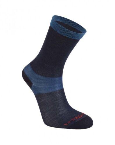 Bridgedale Coolmax Liner Womens Socks Navy 2Pk