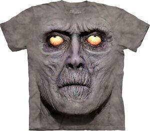 Zombie Portrait T Shirt Mountain Unisex Adult Dark Fantasy rrHAFS