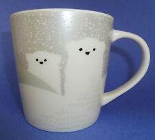 Starbucks Polar Bear Mug Holiday Christmas 2016 Coffee Cup 8 fl oz New