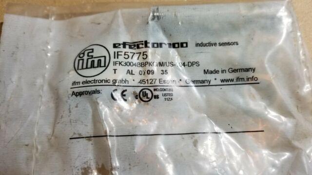 IFM Induktiver Sensor IF5775 IFK3004BBPKG//M//US-100-DPS