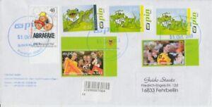 Pin-Berlin-Woltersdorf-Taille-Fente-Lettres-Inscrire-Beleg