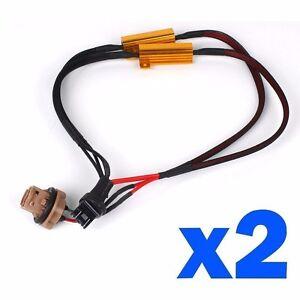 7443 Led 50w Load Resistor Adapter Anti Hyper Blinking