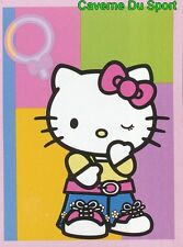 006 HELLO KITTY SUPERSTAR CROMO FIGURINE STICKER VIGNETTE 2009 PANINI