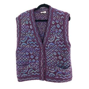 Vintage-Missoni-70-039-s-Womens-Sweater-Vest-Size-44-Missoni-for-Nordstrom-Colorful