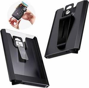 ELV-Badge-Holder-Wallet-Aluminium-ID-Badge-Card-Holder-Heavy-Duty-with-Quick-Re