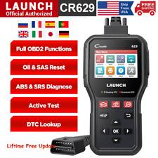 Obd2 Scanner Abs Srs Car Diagnostic Tool Turn Off Check Engine Light Code Reader