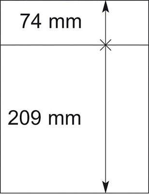 10er-packung SchöN In Farbe Herrlich Lindner 802214p T-blanko-blätter Briefmarken