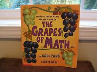 The Grapes Of Math (2001 Paperback) By Greg Tang new Scholastic