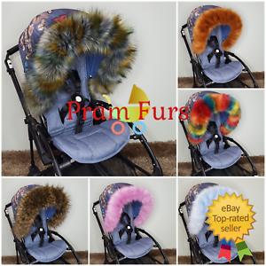 Baby-Pram-Furs-Hood-Trim-Must-Have-Accessories-To-All-Pushchair-Stroller-Prams