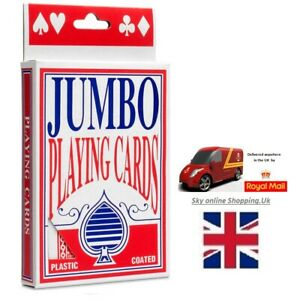 Jumbo-Giant-Playing-Cards-Pack-of-52-Game-Playing-Card-Deck-By-Sky-Online