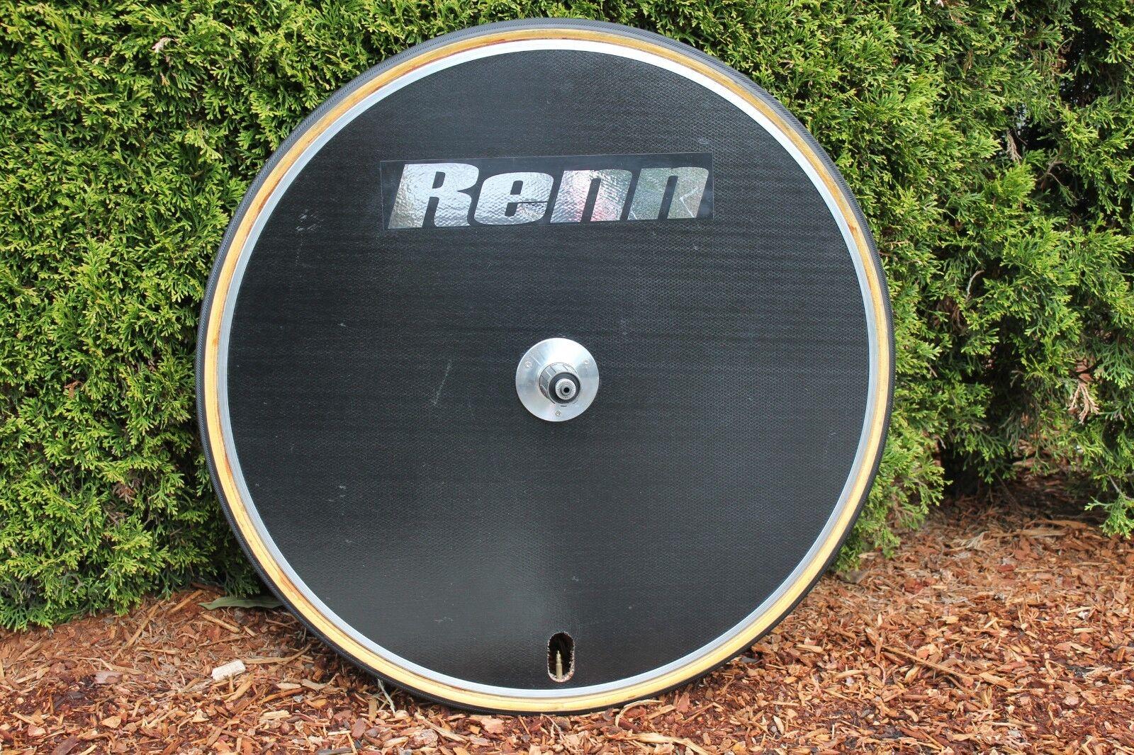 RENN 575 Carbon Fiber Disc Wheel 8 9 10sp Shimano & SRAM 700c Tubular