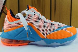 LEBRON XII 12 LOW YOUTH SIZE 5.5 SAME AS WOMAN 7.0 TOTAL ORANGE NEW AUTHENTIC