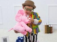 "12""Peek-a-boo Elephant Baby Plush Toy Singing Stuffed Animated Animal Kids Dolls"