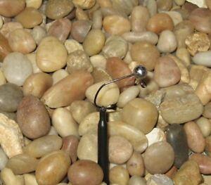50 Hand made 1//8 no collar crappie ball jig heads w// #1 bronze sickle hook