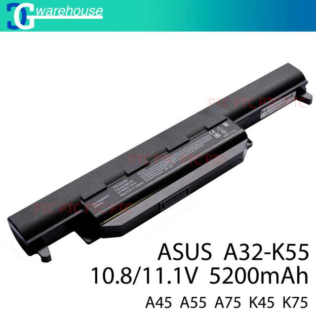 ASUS A32-K55 Q500 Q500A R500A R500V K45N K45VG K55DE K55V K55VS K55 battery