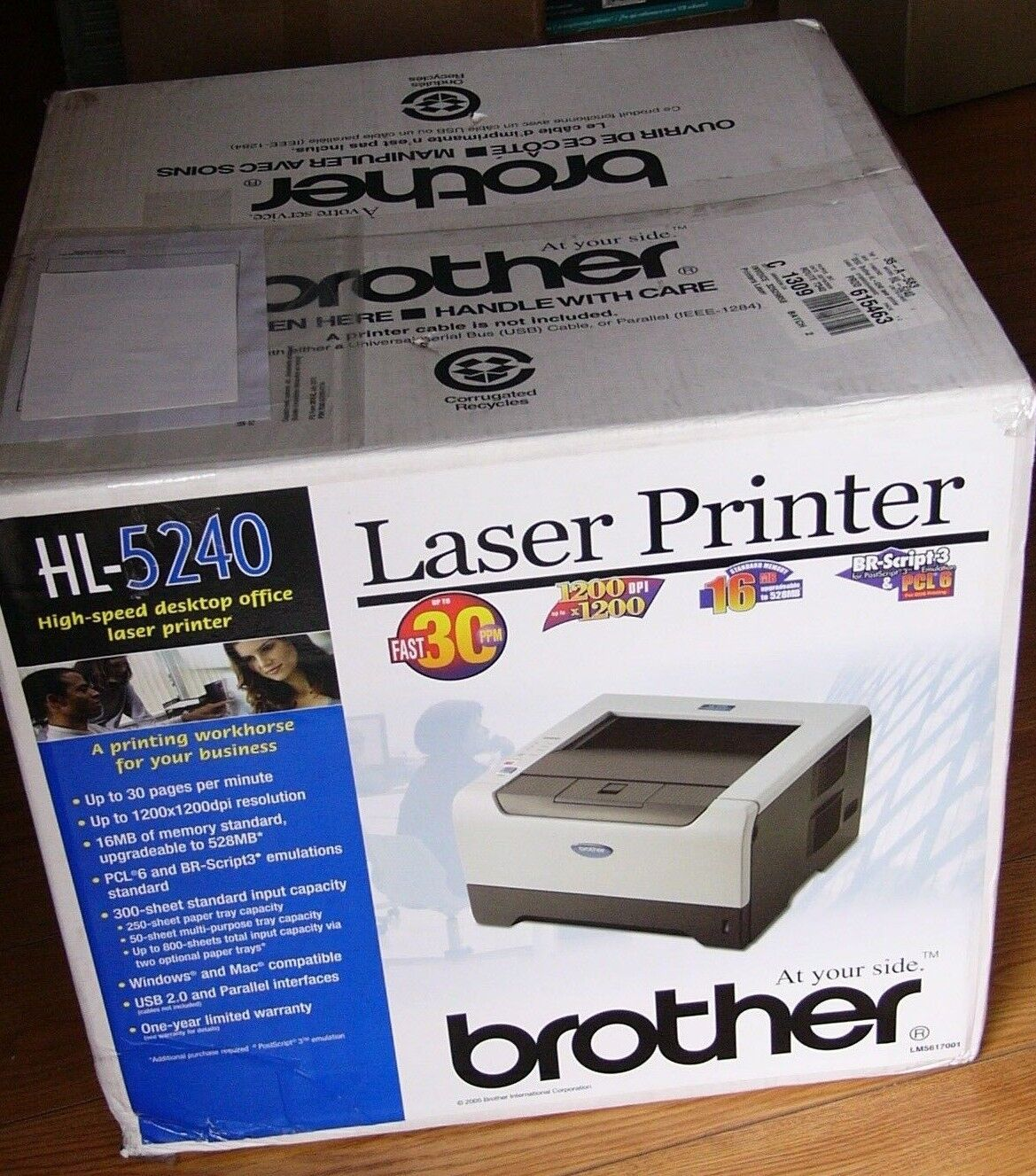 BROTHER HL-5250DN BR-SCRIPT3 WINDOWS 7 X64 TREIBER