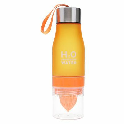 650ml Water Bottle plastic Infuser Drink Outdoor Sports Juice Portable Water Cup